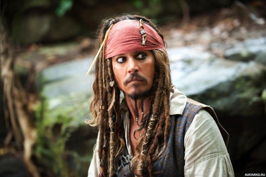 Пират Джек Воробей увидел что-то интересное справа от ...