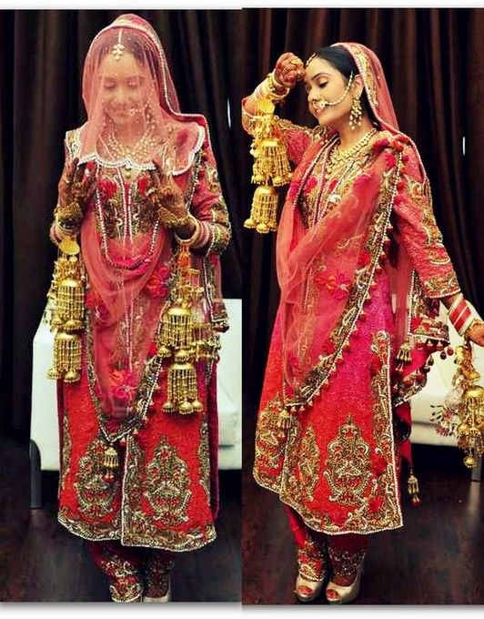 This is not a model, it is a real bride named Ramneet. | Panjabi ...