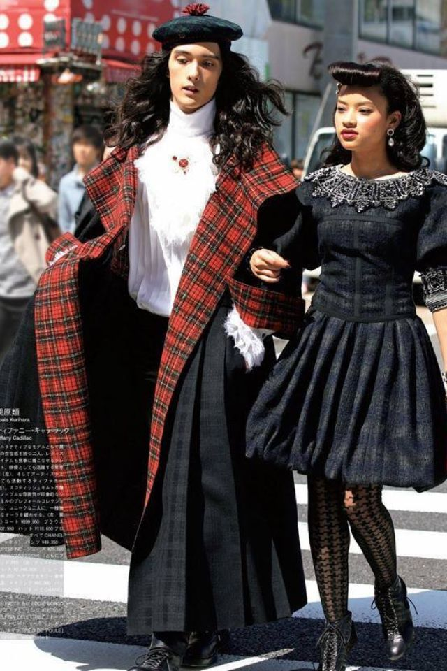 Japanese High Fashion*