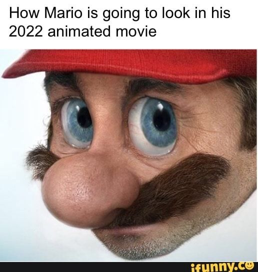How Mario Is Going To Look In His 2022 Animated Movie