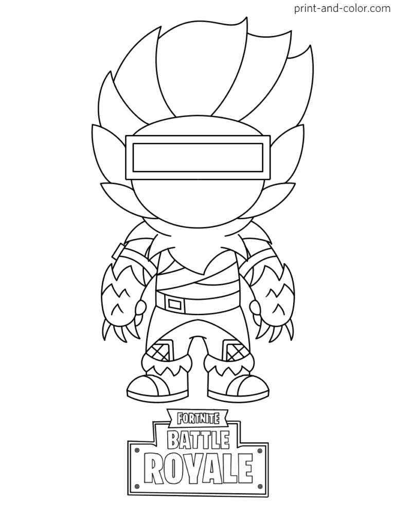 Fortnite coloring pages  Print and Color.com  Coloring pages