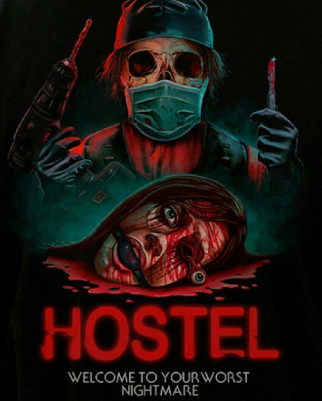 Hostel Desing By Fright Rags Cartaz Filmes Melhores Filmes