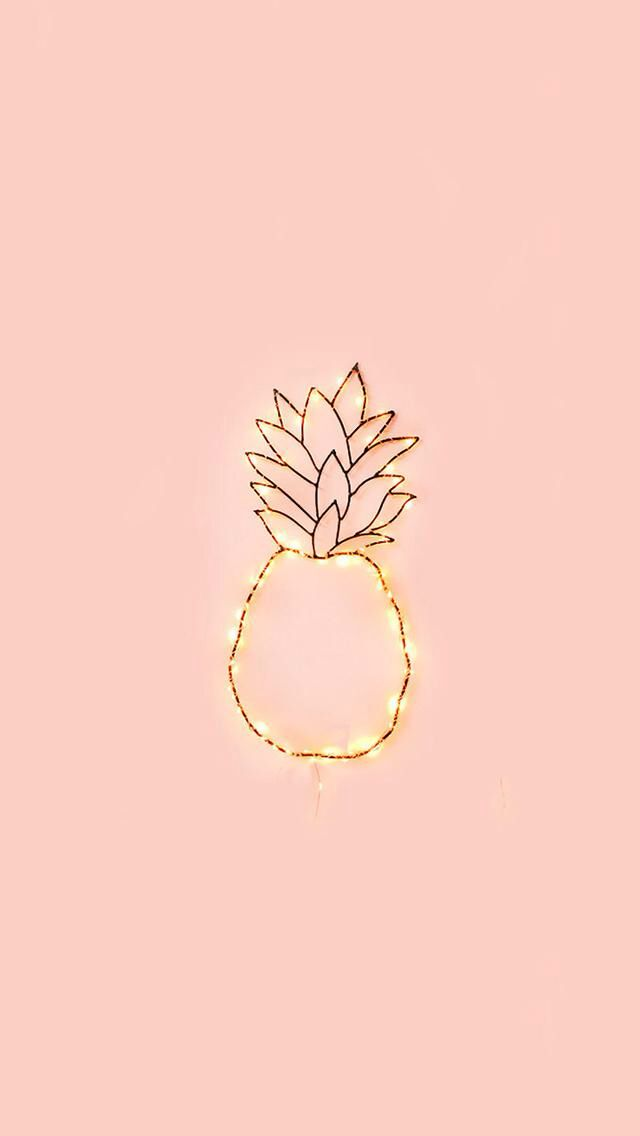 Iphone Wallpaper Pineapple, Cute Iphone Wallpaper Tumblr, Phone Wallpapers Tumblr, Pastel Wallpaper,