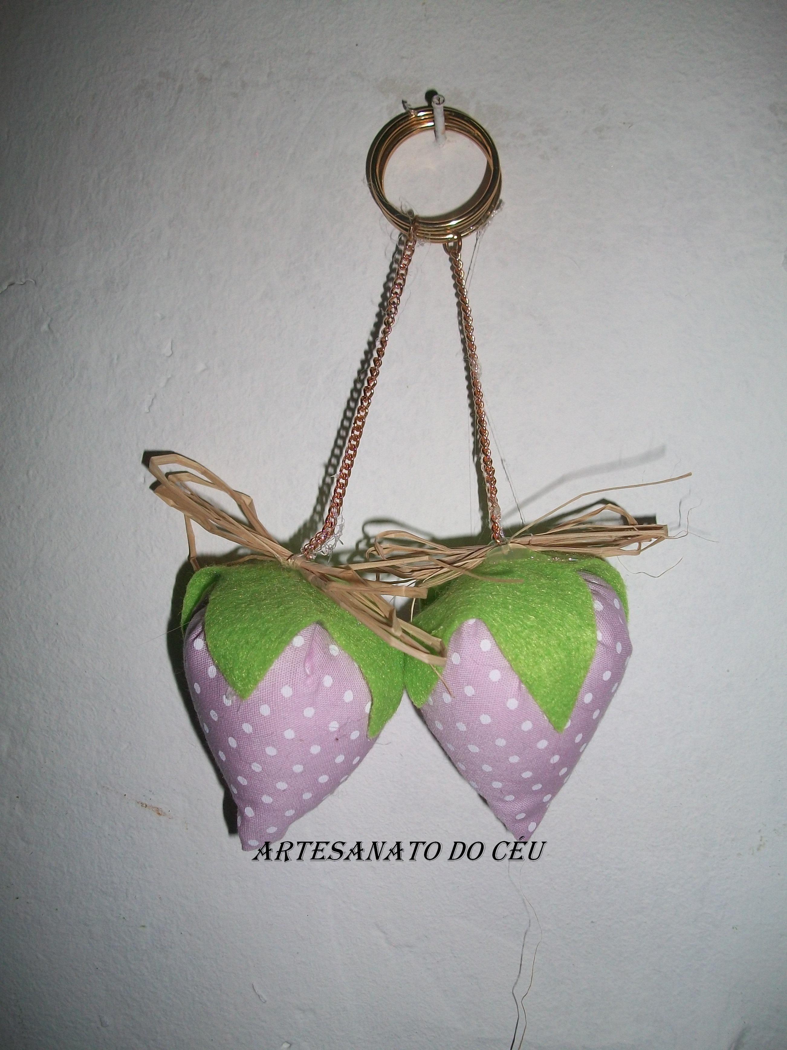 Chaveiro Moranguinho Lilás