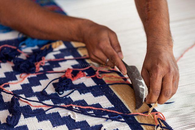 Weaving, Jodhpur by Marji Lang, via Flickr