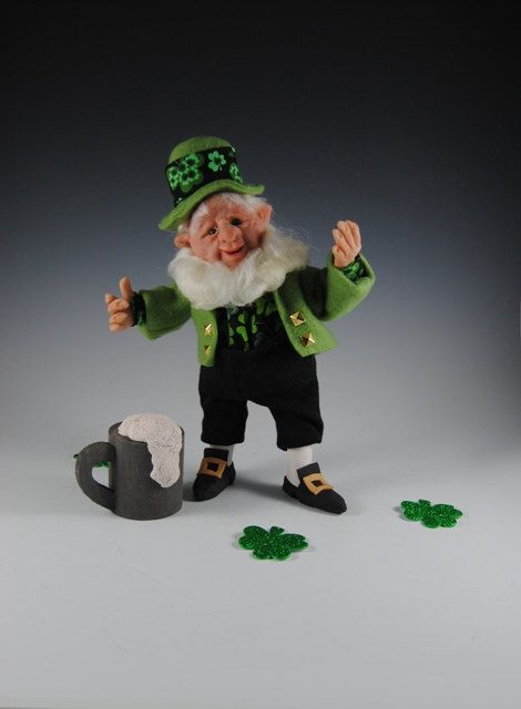 005cd88ff4 RESERVED FOR ALI Leprechaun/Leprechaun Doll/ Irish Doll/