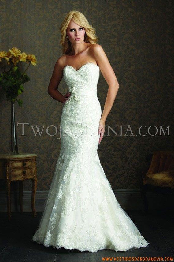 Vestidos de novia marca allure