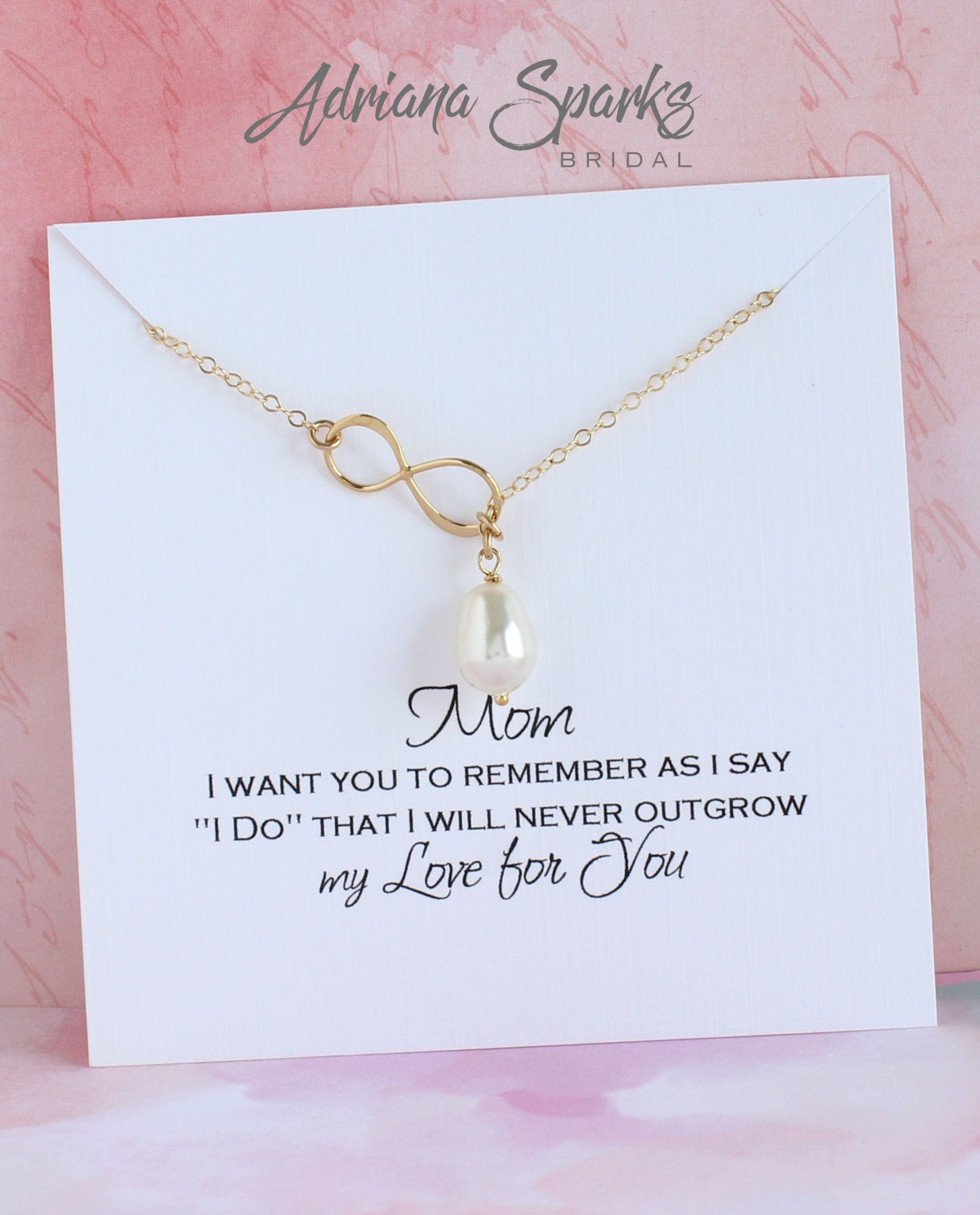 Muse Infinite Personalized Bridesmaid Gifts for Bridesmaid Jewelry Gift for Bridemaid Necklace Bridal Party Gifts for Best Friends