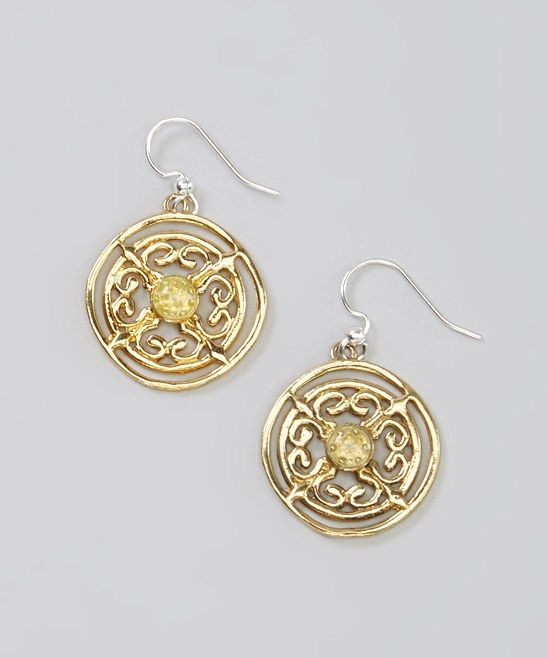 $9.99 | Captiva Day Medallion Earrings   Taylor Marketing www.closeout-queen.com