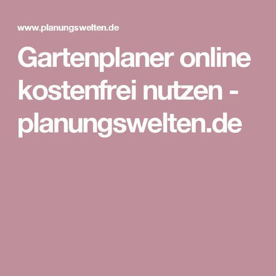 Gartenplaner online kostenfrei nutzen - planungsweltende - gartenplanung beispiele kostenlos