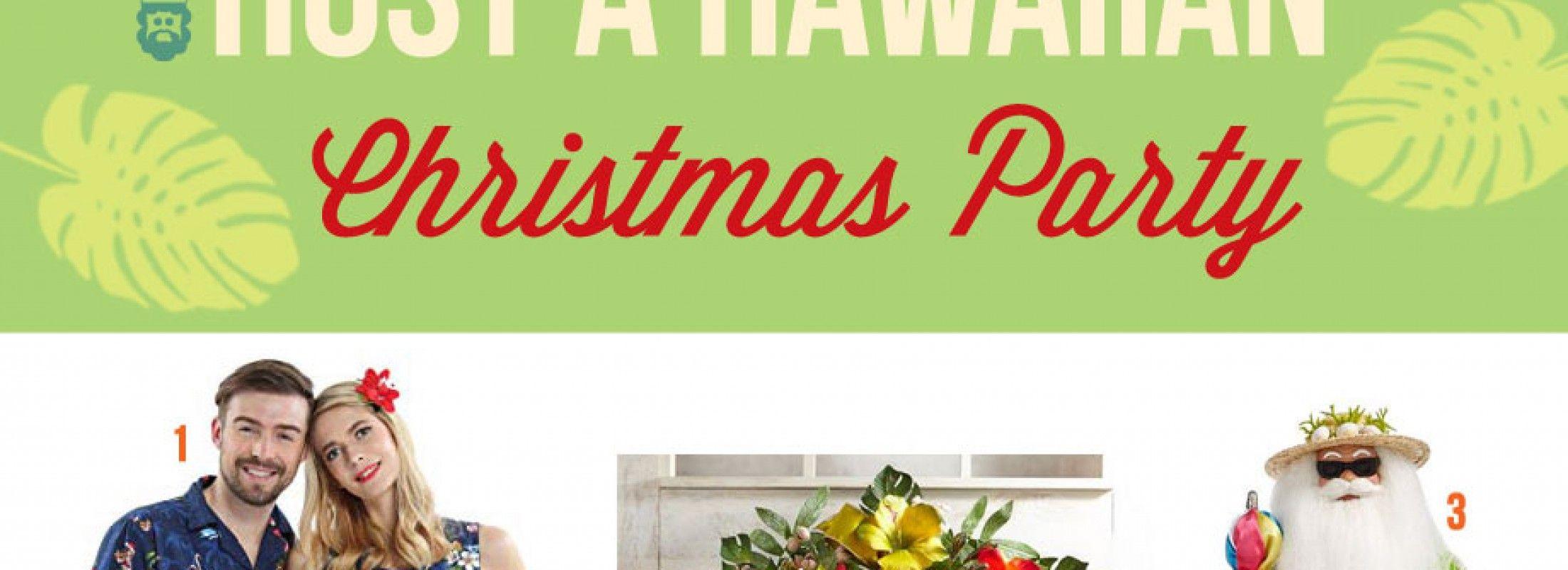 Host a Hawaiian Christmas Party with Whimsical Ideas ...