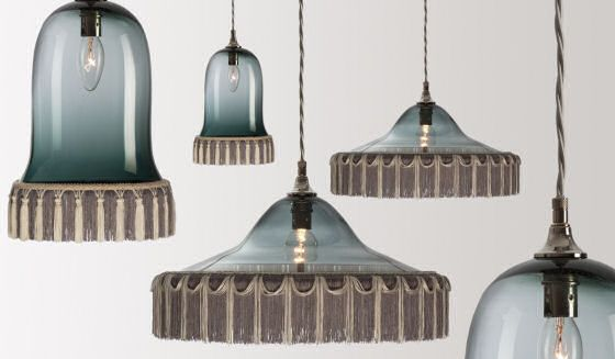 Lighting designs for heals · glass pendant