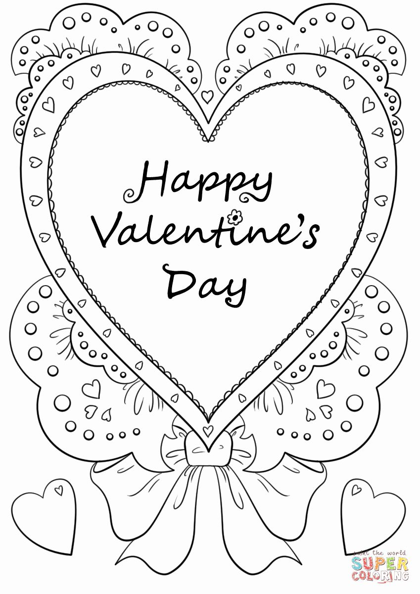 St Valentine Coloring Pages Elegant Happy Valentine S Day Coloring