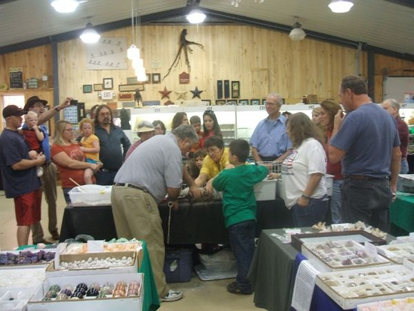 Rock City Park's 2016 Gem, Mineral & Fossil Show - http://bit.ly/2cI23YR - https://www.destinationsofnewyorkstate.com/wp-content/uploads/2016/10/show.jpg - #Olean, #RockCityRoad, #Rt16