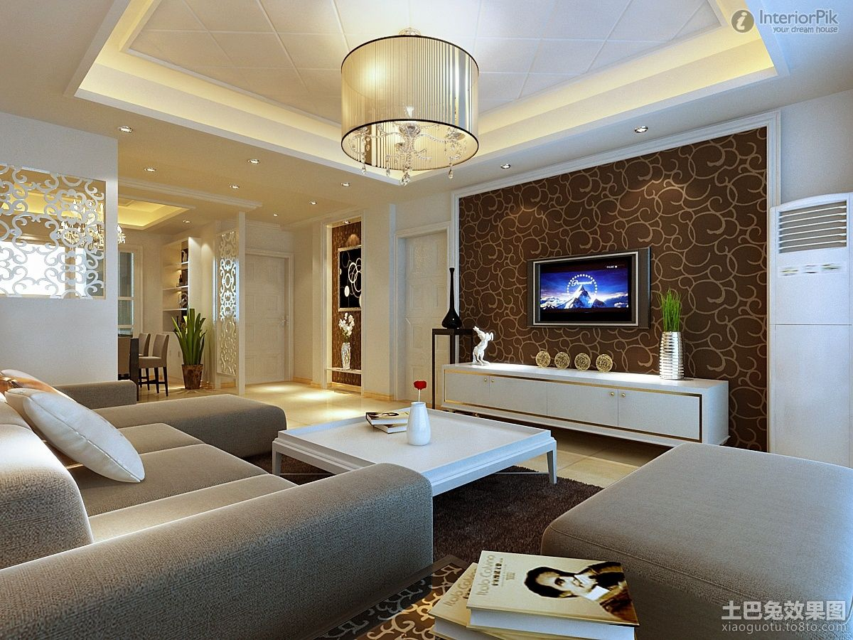 Modern Minimalist Living Room Wallpaper Tv Background Wall Decoration  Effect Modern Minimalist Living Room Wallpaper Tv Background Wall Decoration  Effect ... Part 75