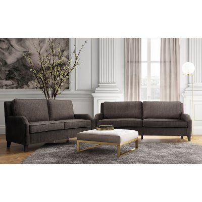TOV Furniture Hartford Linen Living Room Sofa Set - TOV-L6100-L6117