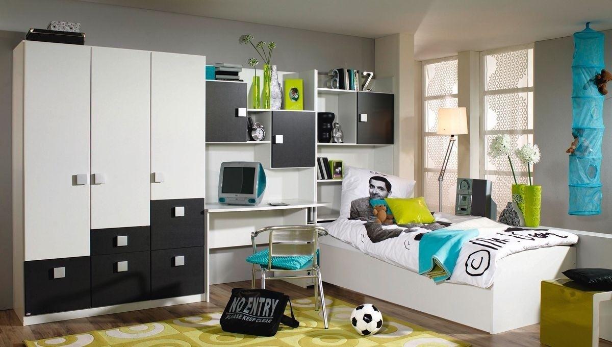 Kinderzimmer komplett Skate Grau Weiß 8393 Buy now at s