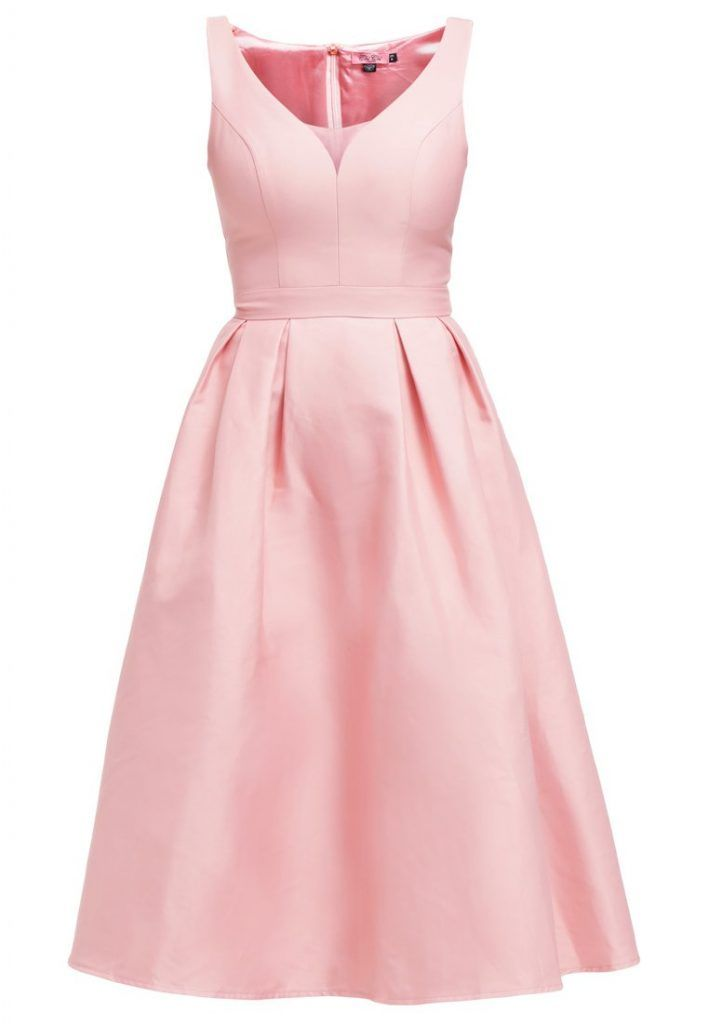 Chi Cocktailkleid Salmon London Morgan Festliches Kleid Pink DH29IYbeWE