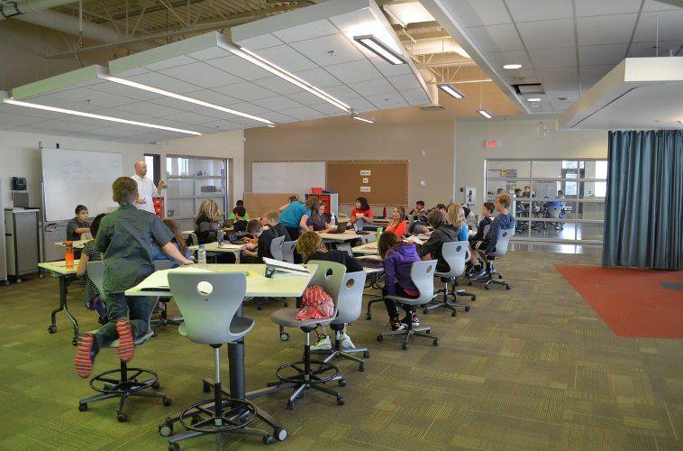 Douglas Park School Regina Saskatchewan Fielding Nair International Architects And Change