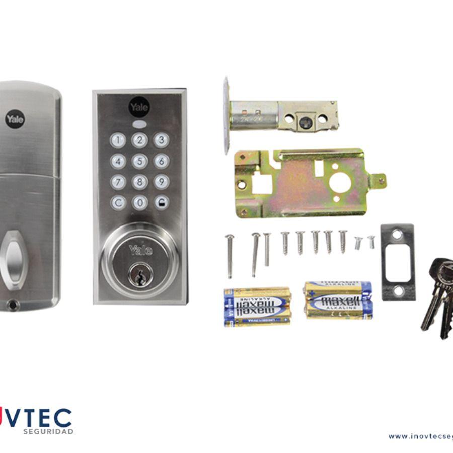 Chapas De Seguridad Para Puertas Cerradura Digital Puertas De Seguridad Cerraduras Seguridad
