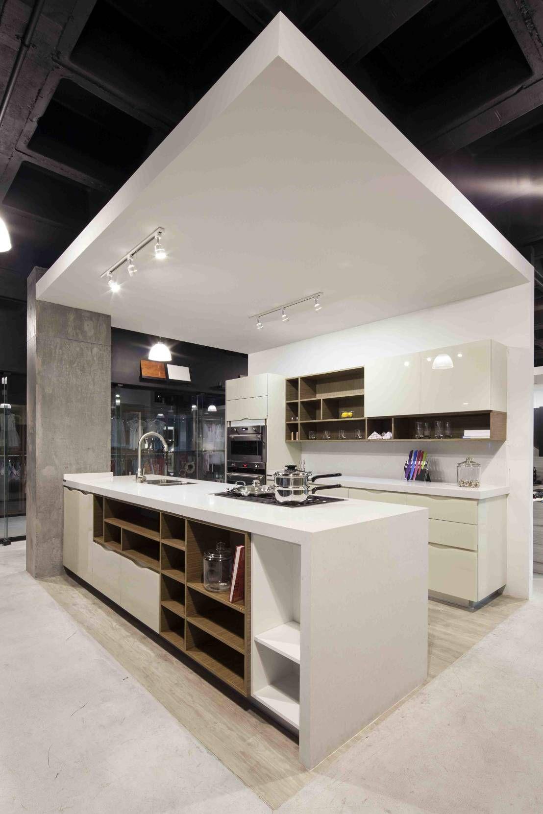 Ideas De Cocinas Modernas. Elegant Barra En Cocina Integrada With ...