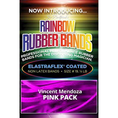 Joe Rindfleisch's Rainbow Rubber Bands (Vince Mendoza - Mr. Pink) by Joe Rindfleisch - Trick