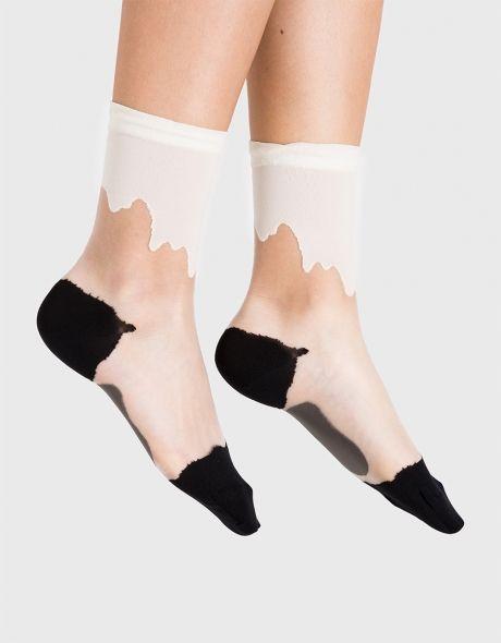 Drippy Crew Socks