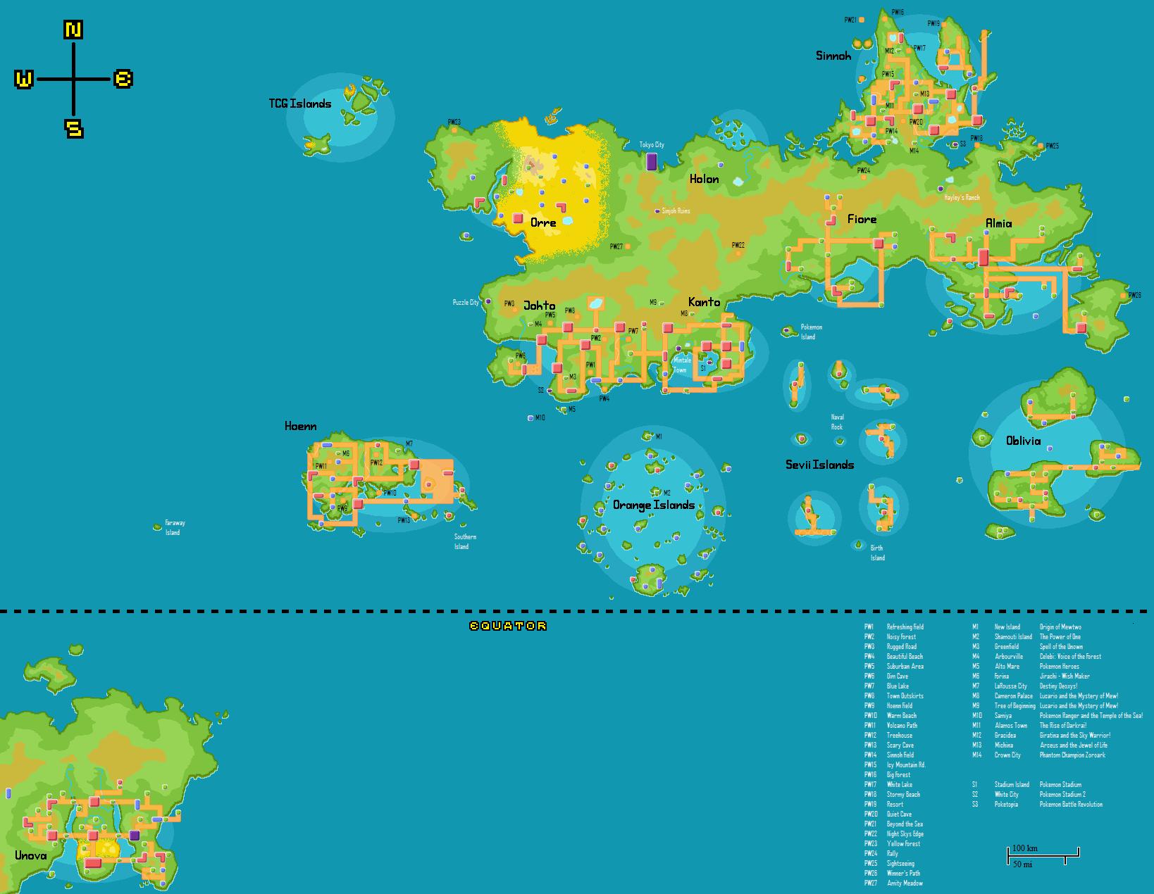 Pokemon regions, theory 2... of the ones I've pinned. | Random Fandoms | Pinterest | Pokemon ...