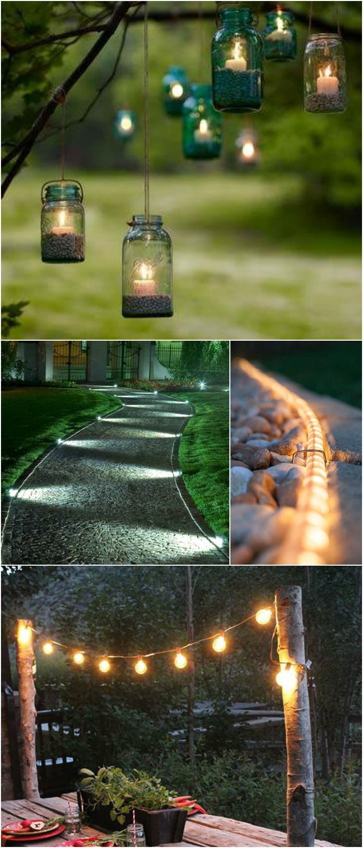 10 Outdoor Lighting Ideas for Your Garden Landscape. #5 Is Really ...
