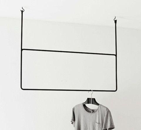 Clothing rail rectangular minimalist open closets and hanging clothing rail rectangular sisterspd