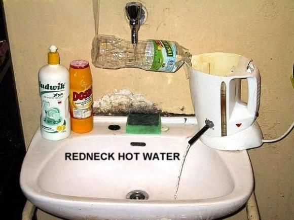 Rednck Hot Water