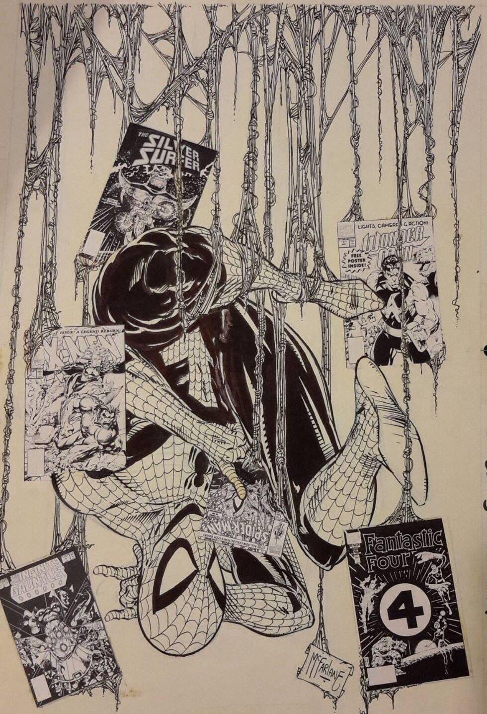 Todd McFarlane Spider-Man Art