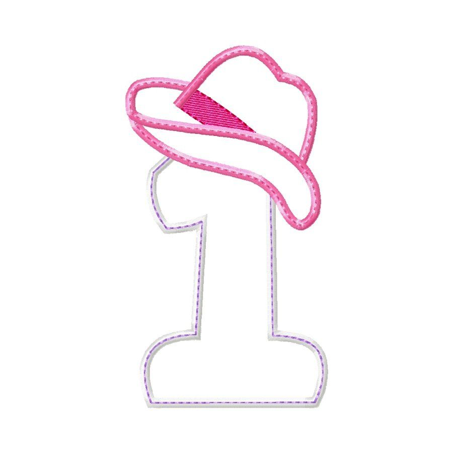 Cowgirl hat 1 applique embroidery design pattern by cowgirl hat 1 applique embroidery design pattern by jjmachineembroidery this number one applique is ready bankloansurffo Gallery