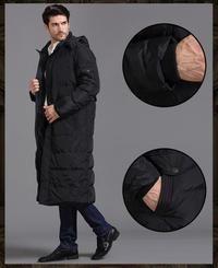Stylish casual parka thicken Long jacket