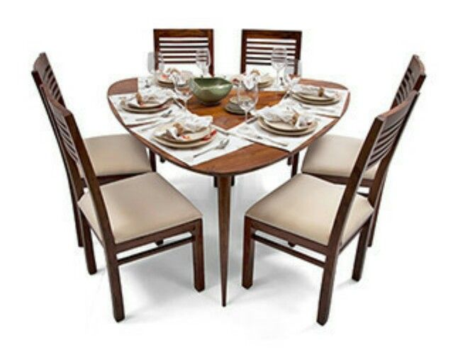 Triangle Shaped Dining Table Dining Table 6 Seater Dining Table
