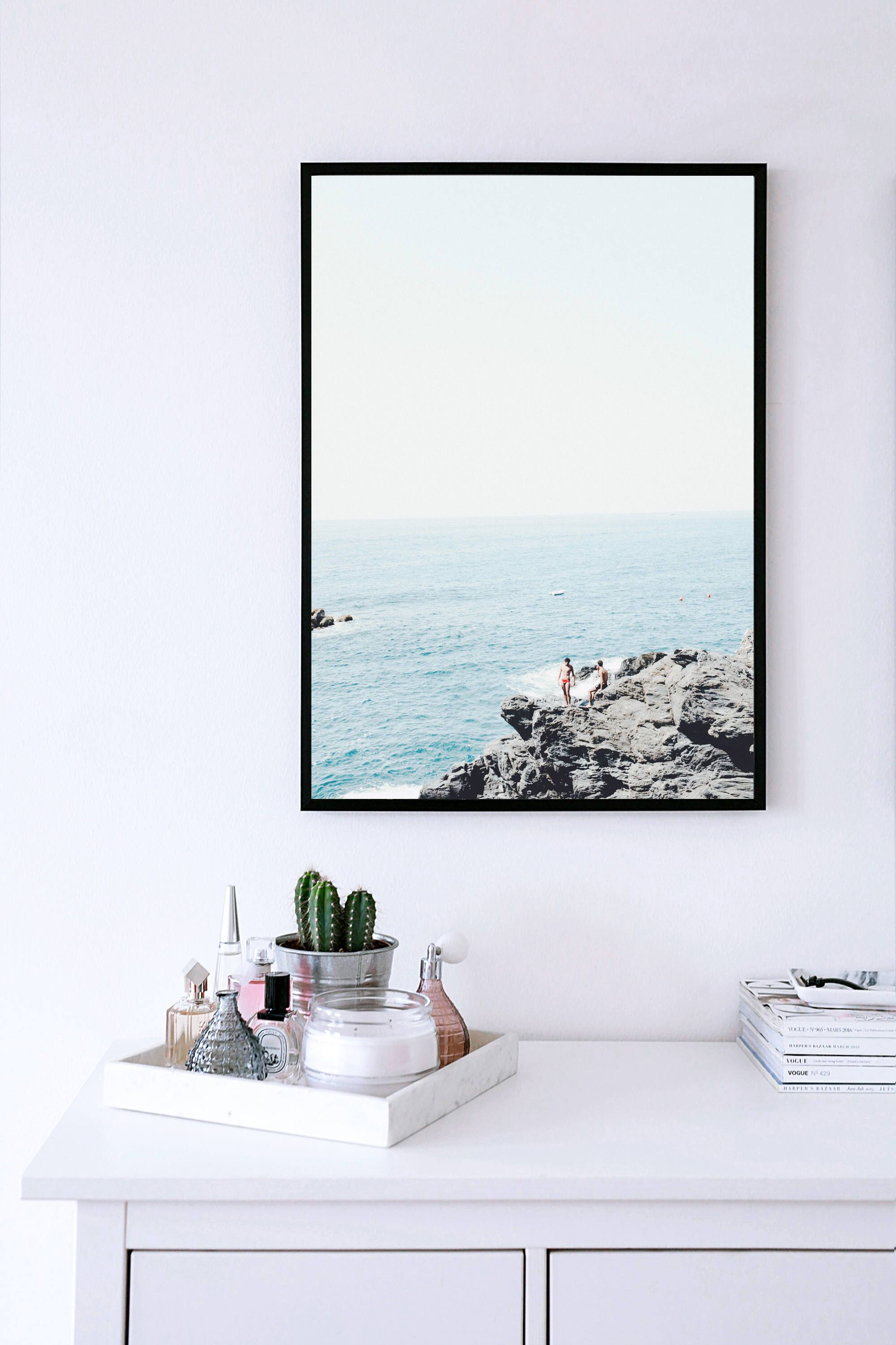 Beach print nature wall art prints photography prints coastal decor australia beach