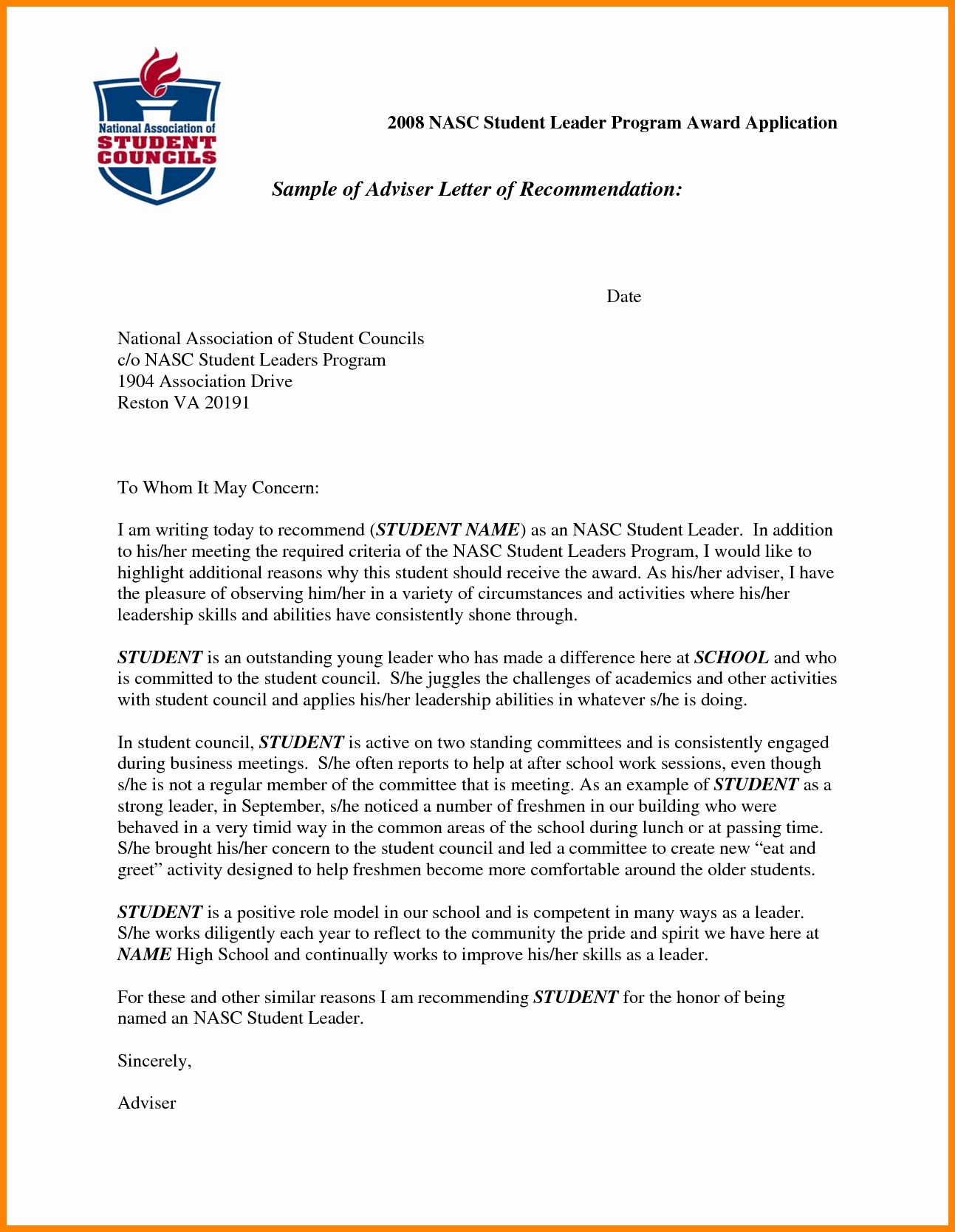 Study Abroad Letter Fresh 5 Re Mendation