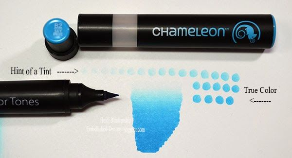 CHAMELEON Tops Color Tones Permanent Alcohol Ink Pens System Colour Changing Gra
