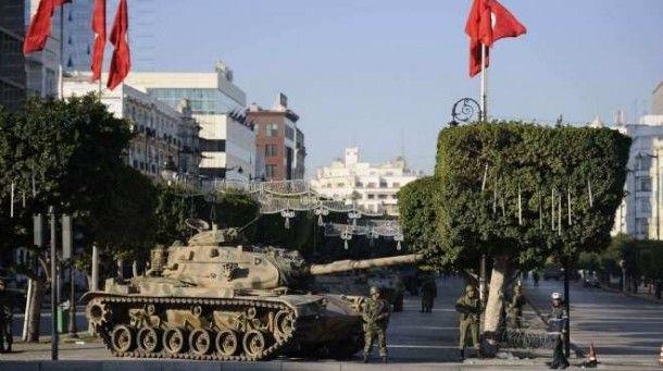 استنفار امني وعسكري جنوب تونس بعد مهاجمة مسلحين ليبيين مركز حرس حدود