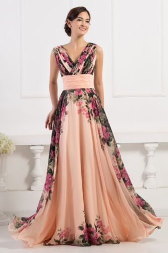 e60a9e7c93f ELEGANT-Long-Bridesmaid-Evening-Prom-Formal-Ball-Gown-Party-MAXI-Dress-PLUS- SIZE
