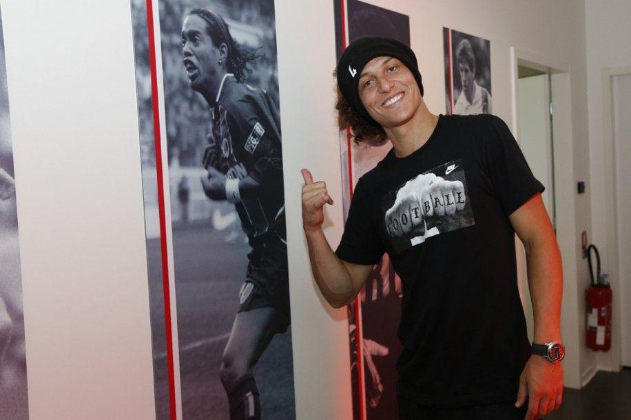 Photo - Première séance d'entraînement de David Luiz - psg.fr
