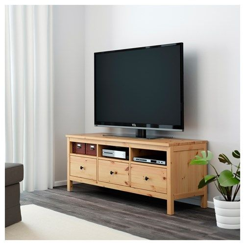 HEMNES tv sehpası açık kahverengi 149x47 cm IKEA TV-Dolap - tv grau beige