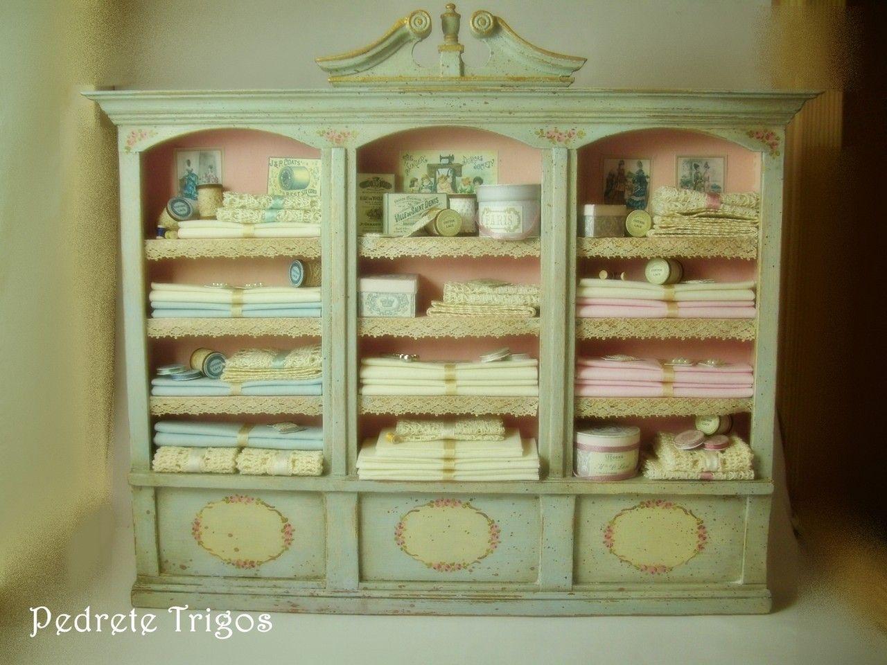 Tienda On Line Miniaturas Pedrete Beautiful Shelves My  # Tienda Vainilla Muebles