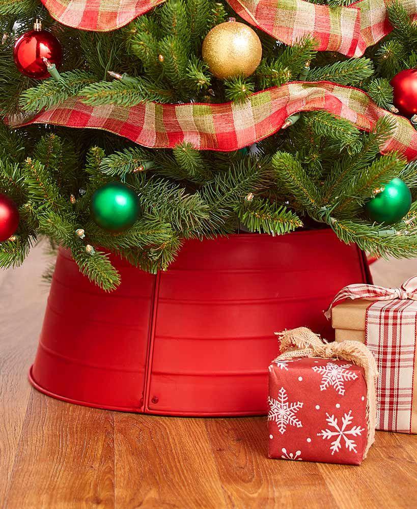 Decorative Christmas Tree Collars Metal Christmas Tree Christmas Tree Shop Christmas Tree Ring
