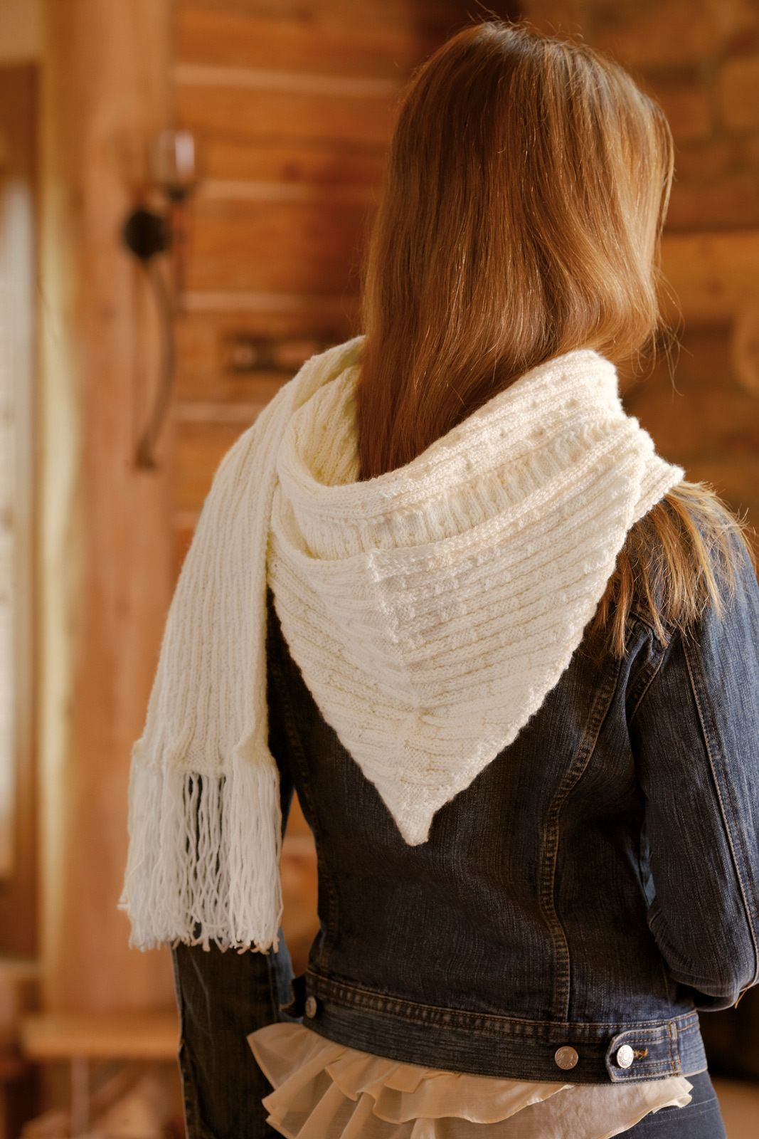 Kapuzenschal Scoodie - stricken-haekeln.de | Stricken | Pinterest ...