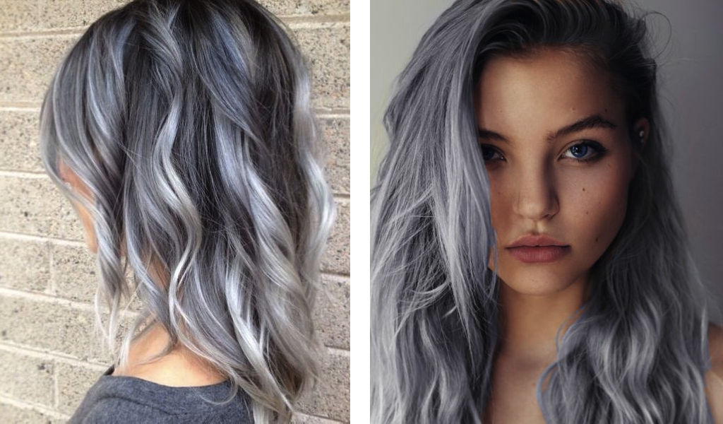 Blonde Hair Color Styles: Silver & Gray Old And Young