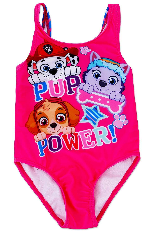 Dreamwave Little Girls Toddler Paw Patrol One Piece Swimsuit
