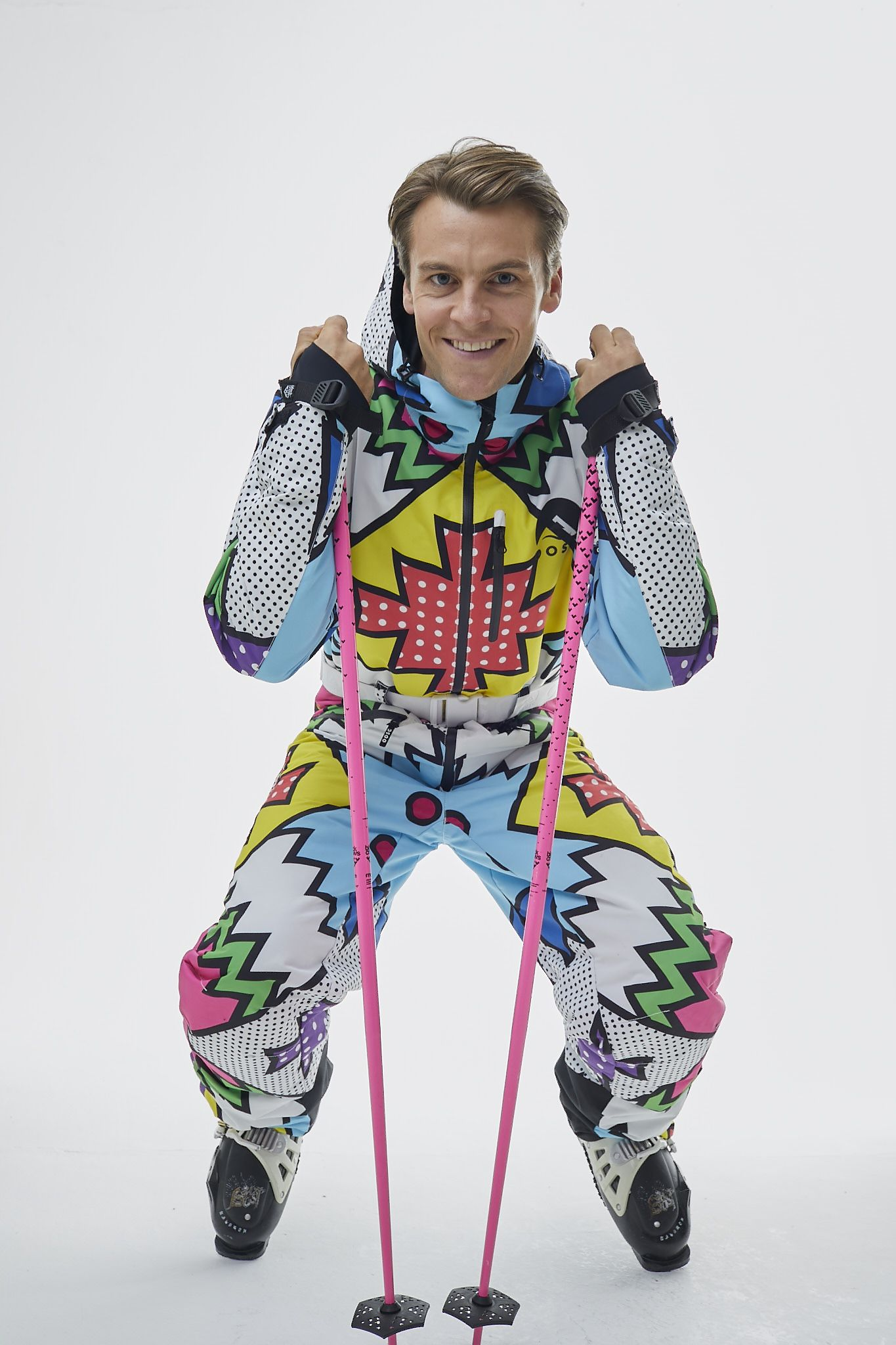 Day Tripper Ski Suit Mens Unisex Skiing Suits Clothes