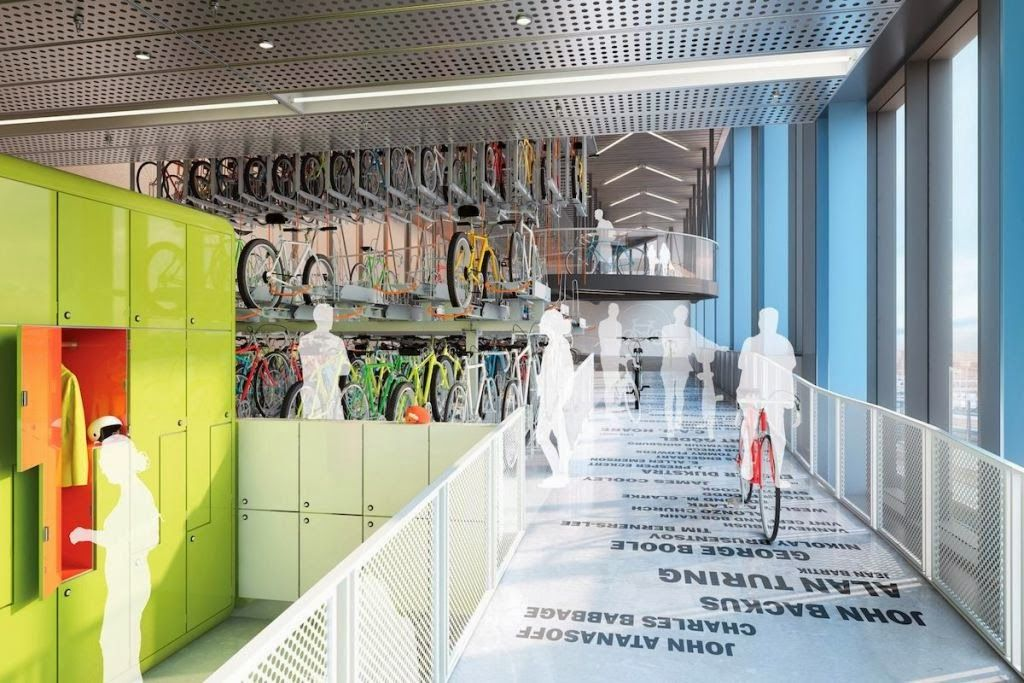 Google london concept picture gym interior workplace