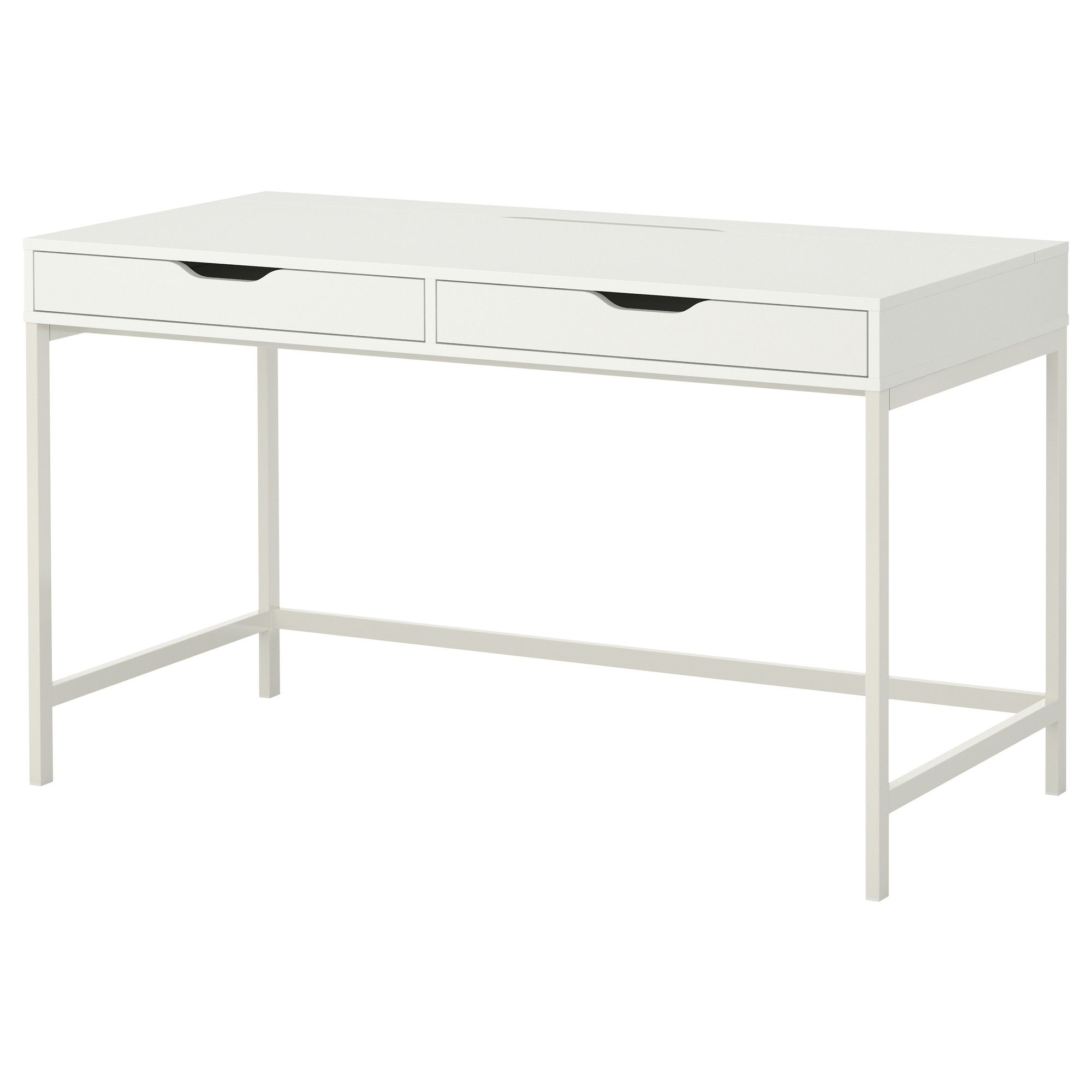 Alex Desk Gray 51 5 8x23 5 8 Ikea Ikea Alex Desk Alex Desk Desk With Drawers